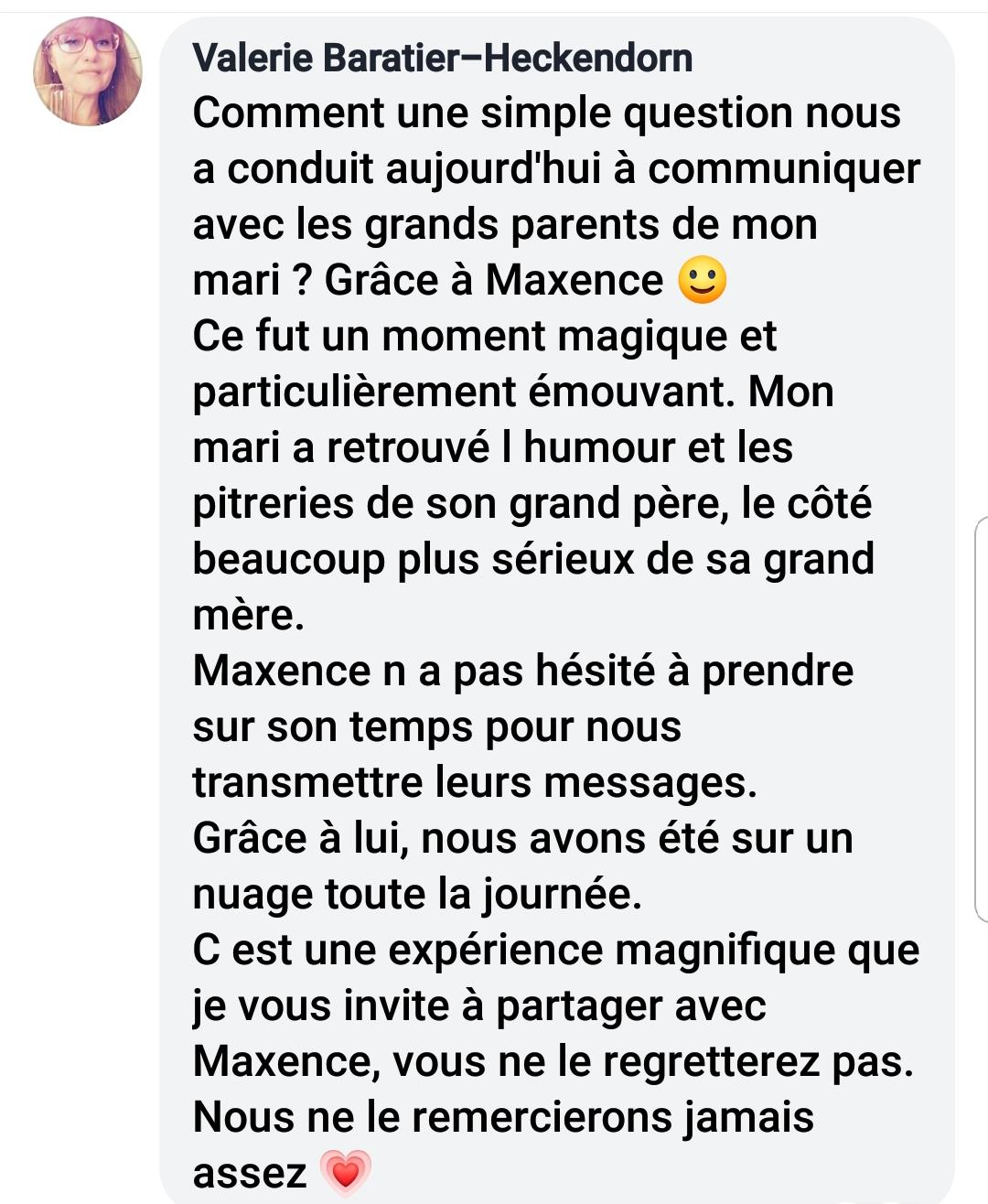Valérie contact